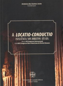 Portada de A LOCATIO-CONDUCTIO