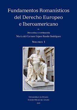 Portada de Fundamentos Romanísticos del Derecho Europeo e Iberoamericano